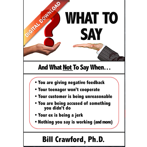 What to Say - eBook image